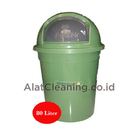 Tempat Sampah Bulat 80 Liter