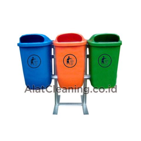Tempat sampah gantung 3 oval